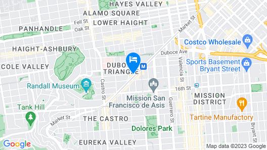 Perramont Hotel Map