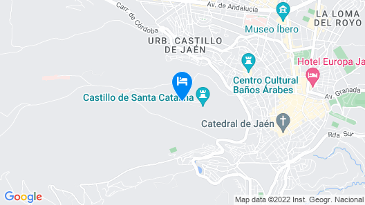 Parador de Jaén Map