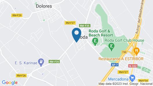 Calle Carlos Roda Map