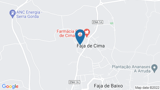 House With 3 Bedrooms in Fajã de Cima, With Enclosed Garden and Wifi - 7 km From the Beach Map