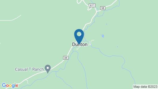 Dunton Hot Springs Map