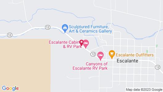 Escalante Cabins & RV Park Map