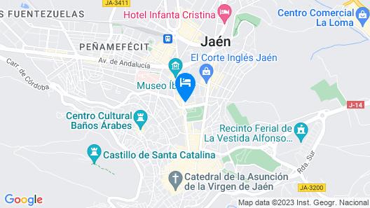 Condestable Iranzo Map