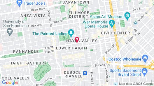 Casa Loma Hotel Map