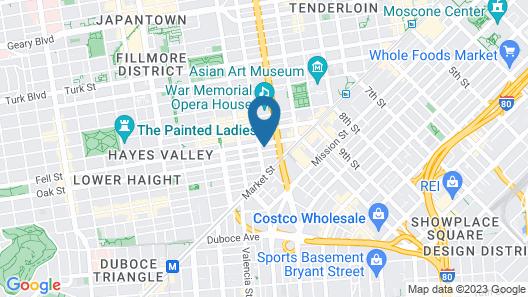 Oak Hotel Map
