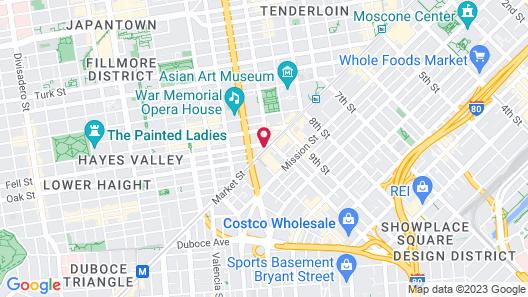 Inn at Market Map