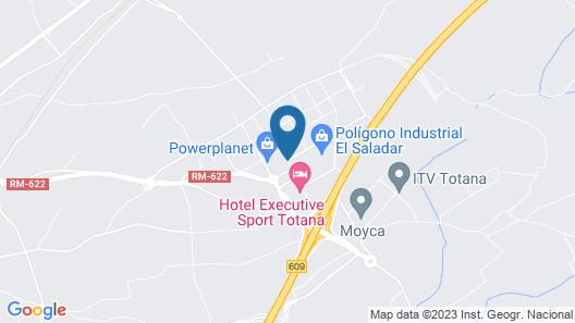 Hotel Executive Sport Map