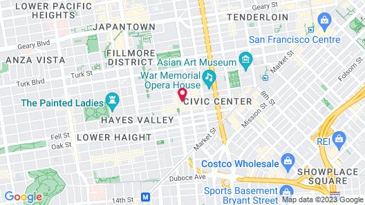 Days Inn by Wyndham San Francisco Downtow Map