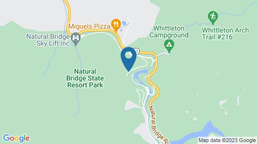 Natural Bridge State Resort Park Map