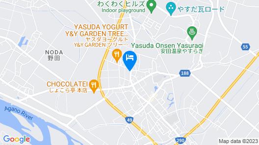 Hotel Green Yasuda Map