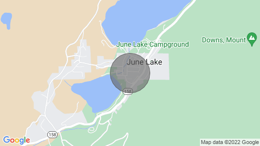 3 Bedroom Accommodation in June Lake Map