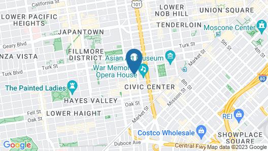 Inn At The Opera Map