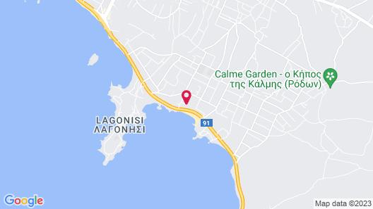 Vergina Hotel Map