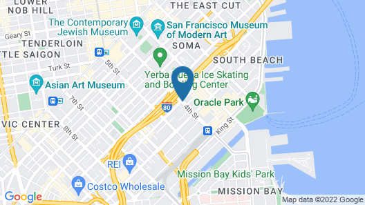 The Utah Inn Map