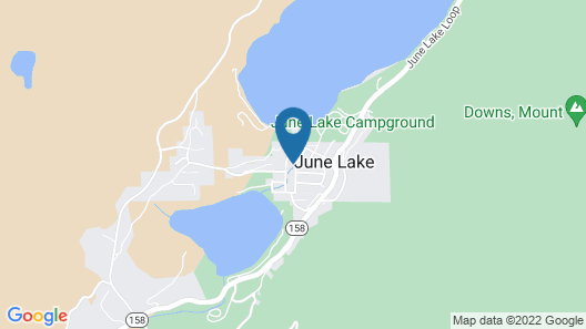 June Lake Chalet Map