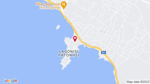 Grand Resort Lagonissi Map