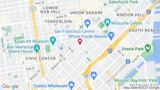 Minna Hotel Map