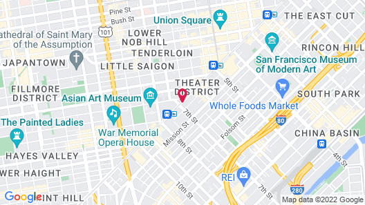 Aida Plaza Hotel Map