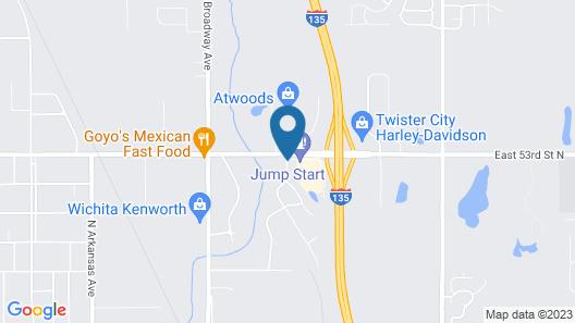Days Inn by Wyndham Wichita North Map