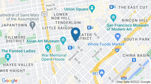 San Francisco Proper Hotel Map