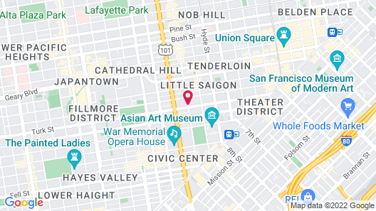 Embassy Hotel Map