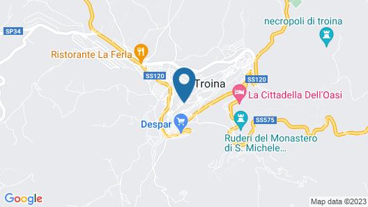 San Procopio Map