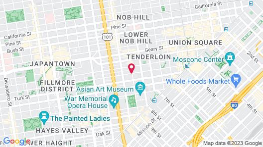 The Phoenix Hotel Map