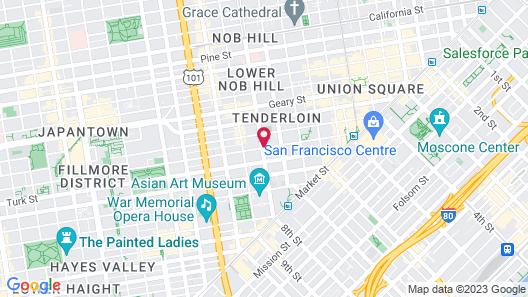 Adrian Hotel Map