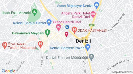 Altin Pansiyon Map
