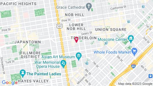 COVA Hotel Map