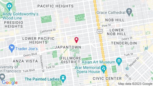 Hotel Kabuki, part of JdV by Hyatt Map
