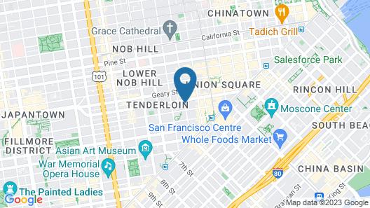 Tilden Hotel Map