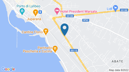 Bed and Breakfast Albatros Map