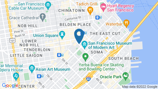 The Park Central San Francisco Map