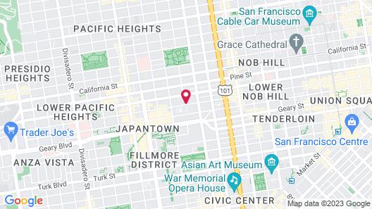 Queen Anne Hotel Map