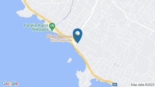 Lagonisi Villa Afroditi Map