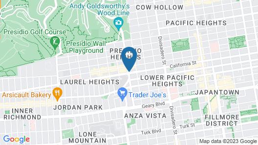 The Laurel Inn, part of JdV by Hyatt Map