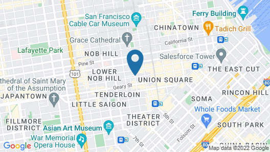 Taylor Hotel Map