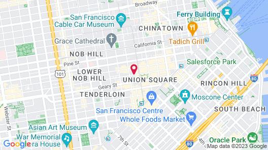 Kensington Park Hotel Map