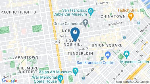 Mithila Hotel Map