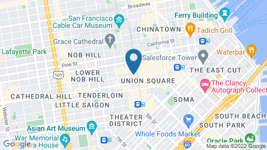 Inn At Union Square Map