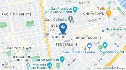 Hotel Vertigo Map