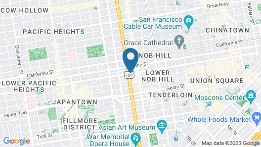 Calista Organic Hotel Map