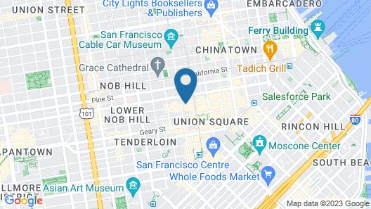 Hotel Emblem San Francisco Map