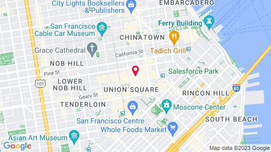 Hotel Ikon Map