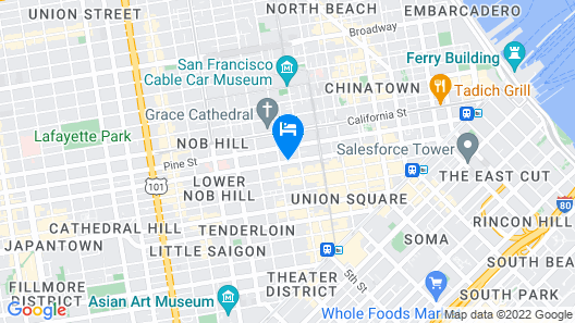 Petite Auberge Map