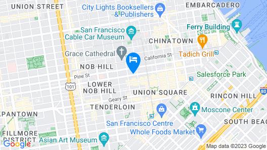 White Swan Inn Map
