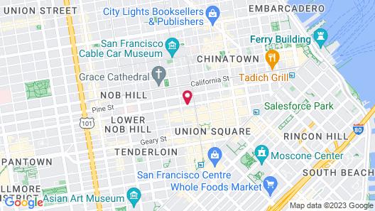 Grant Hotel Map