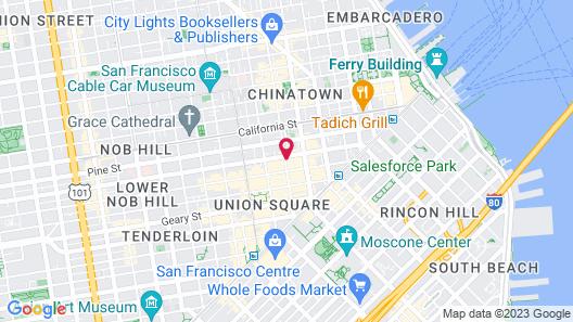 Hotel Triton Map