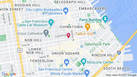 Grant Plaza Hotel Map